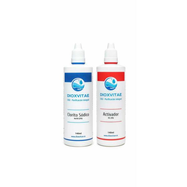 kit de clorito de sodio y activador